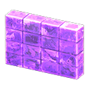 こおりのパーテーション紫紫