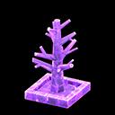 こおりのツリー紫紫