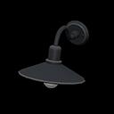 アイアンウォールランプ黒黒