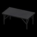 アイアンワークテーブル黒黒