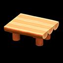まるたのダイニングテーブルオレンジオレンジ