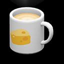 マグカップ白黄
