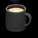 マグカップ黒黒