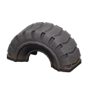 タイヤのゆうぐ黒黒
