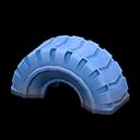 タイヤのゆうぐ青青