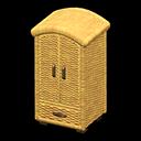 ラタンのクロゼット黄黄