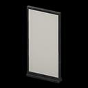 シンプルなパネル黒グレー