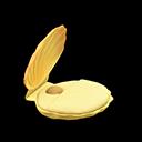 かいがらのベッド黄黄