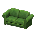ダブルソファ緑緑
