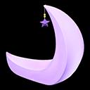 みかづきチェア紫黄