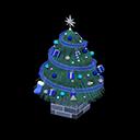 おおきなクリスマスツリー青青