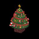 おおきなクリスマスツリー緑赤