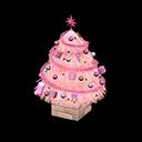 おおきなクリスマスツリーピンクピンク