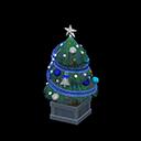 かわいいクリスマスツリー緑青