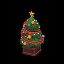 かわいいクリスマスツリー緑赤