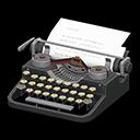 タイプライター黒黄