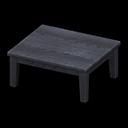 もくせいテーブル黒黒