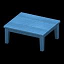 もくせいテーブル青青