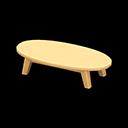 もくせいローテーブル黄黄