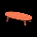 もくせいローテーブルオレンジオレンジ