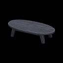 もくせいローテーブル黒黒