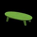 もくせいローテーブル緑緑