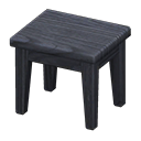 もくせいミニテーブル黒黒