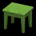 もくせいミニテーブル緑緑