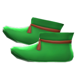 まほうつかいのブーツ緑緑