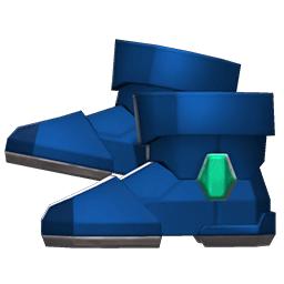 パワードブーツ青緑
