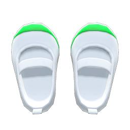 うわばき緑白