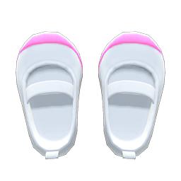 うわばきピンク白