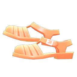 アクアサンダルオレンジオレンジ