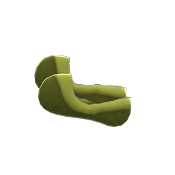 フットカバー緑緑