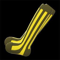 ストライプソックス黄黒