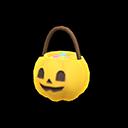 ハロウィンなおやつバスケット黄黒