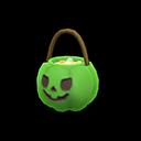 ハロウィンなおやつバスケット緑黒