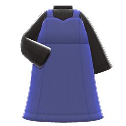 ビスチェワンピース青黒