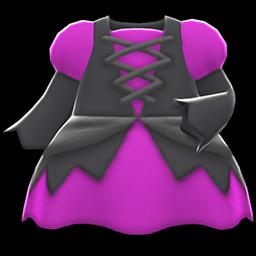 まほうつかいのドレス紫黒