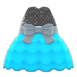バブルドレス水黒