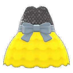 バブルドレス黄黒