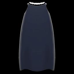 スリップドレス黒黒