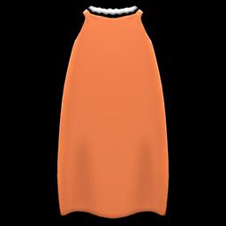 スリップドレスオレンジオレンジ