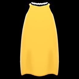 スリップドレス黄黄