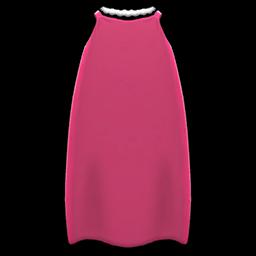 スリップドレス赤赤