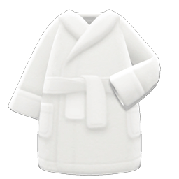 バスローブ白白