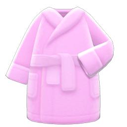 バスローブピンクピンク
