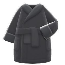 バスローブ黒黒