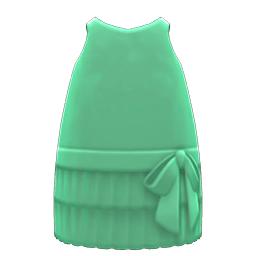 モガなワンピース緑緑