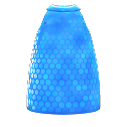 スパンコールのワンピース青青